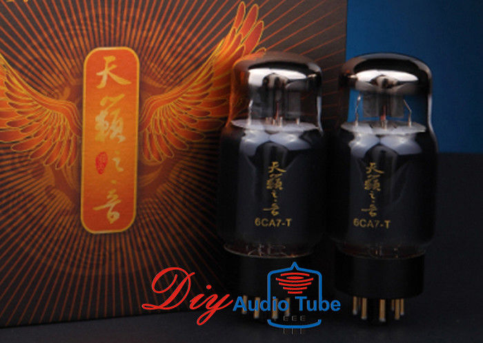 Improved Structure Shuguang Electron Tubes , Power Amplifier 6CA7 Vacuum Tube 6CA7-T