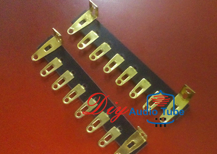 8 Pins Tube AMP Board Eco Friendly Bakelite Material Terminal Turret Board