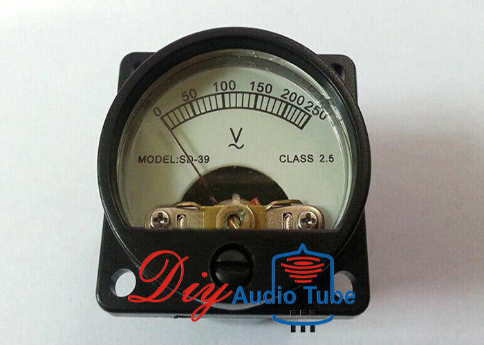 DC AC 250V Stereo Analog VU Meter 35*35mm Dimension Durable For CD Players