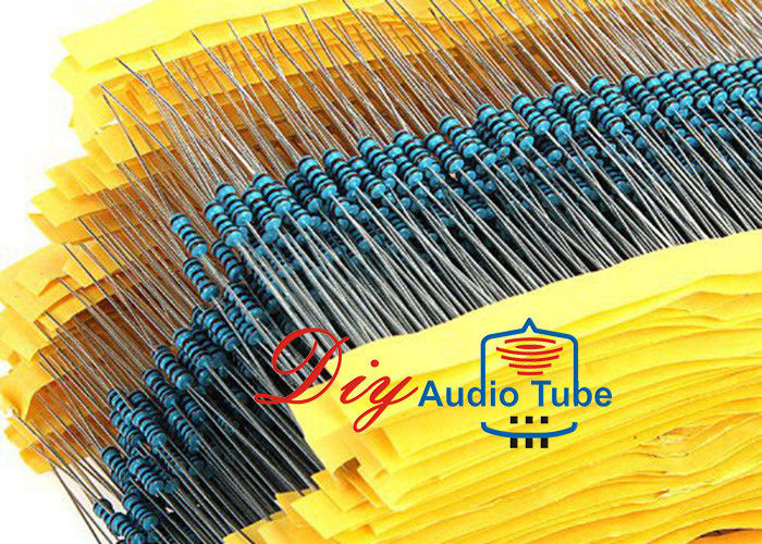 Straight Leg Type Audiophile Grade Resistors -55°C To 155°C Operating Temperature