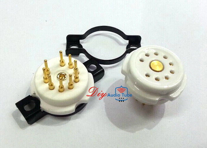 EIZZ 9pin Vacuum Tube Socket For 12AX7 6DJ8 6922 ECC88 EL84 6BQ5 12BH7 EF86