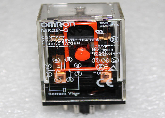 Omron relay MK2P-S-AC24V - 2 open 2 closed (8 Pin)
